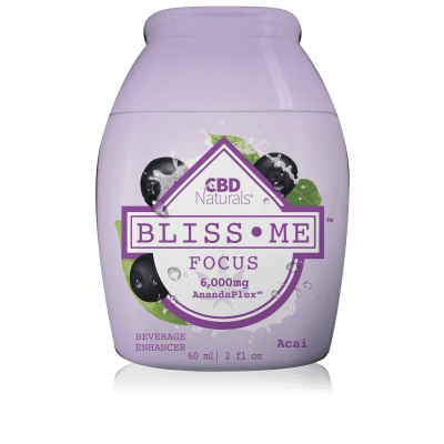 BLISS ME™ Focus Liquid CBD Water Enhancer