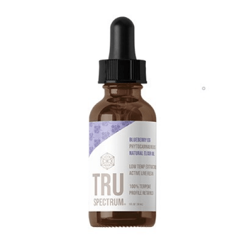 TruSpectrum Tincture Oil Blueberry OG-150 mg