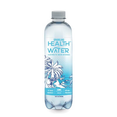 HEALTH WATER™ Sparkling Nano CBD Water - 4PK