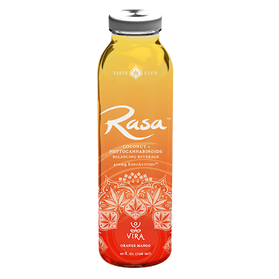 RASA™ Orange Mango CBD Coconut Water